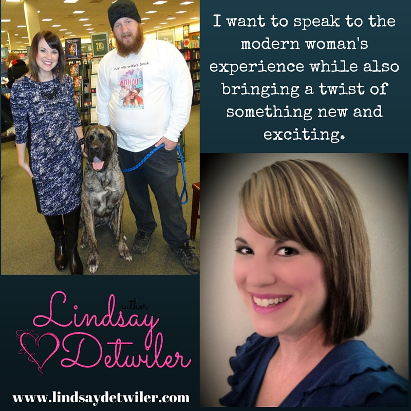Lindsay Detwiler Women's Fiction Writer